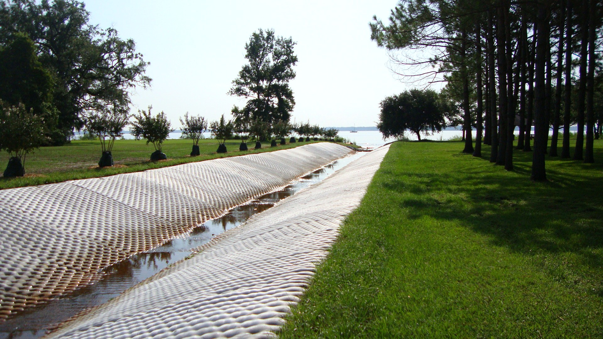 Concrete Ditch Paving in Jacksonville