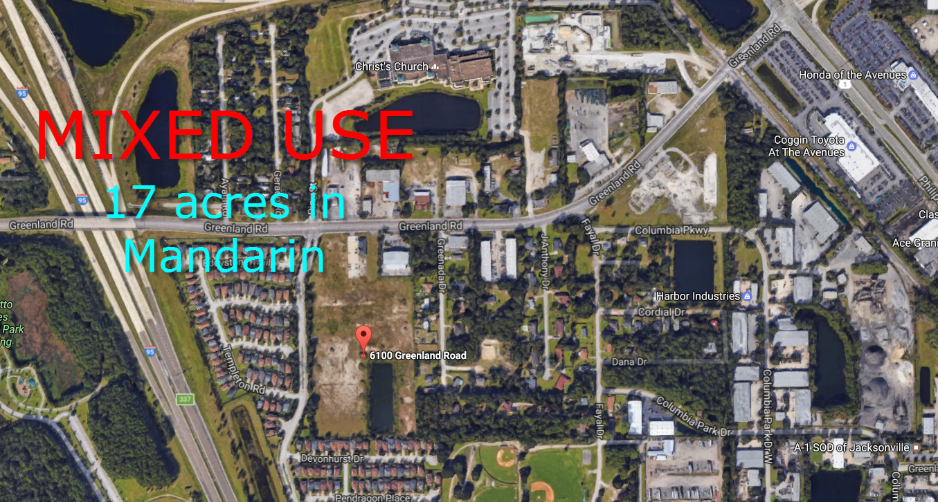 Jacksonville Civil Engineering Firm tackles mixed use in Mandarin on Greenland Road